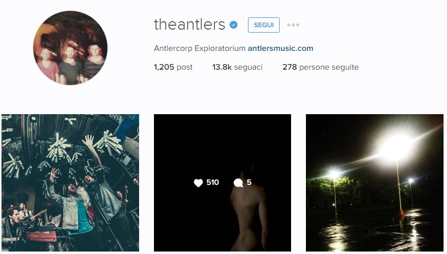 the antlers insta